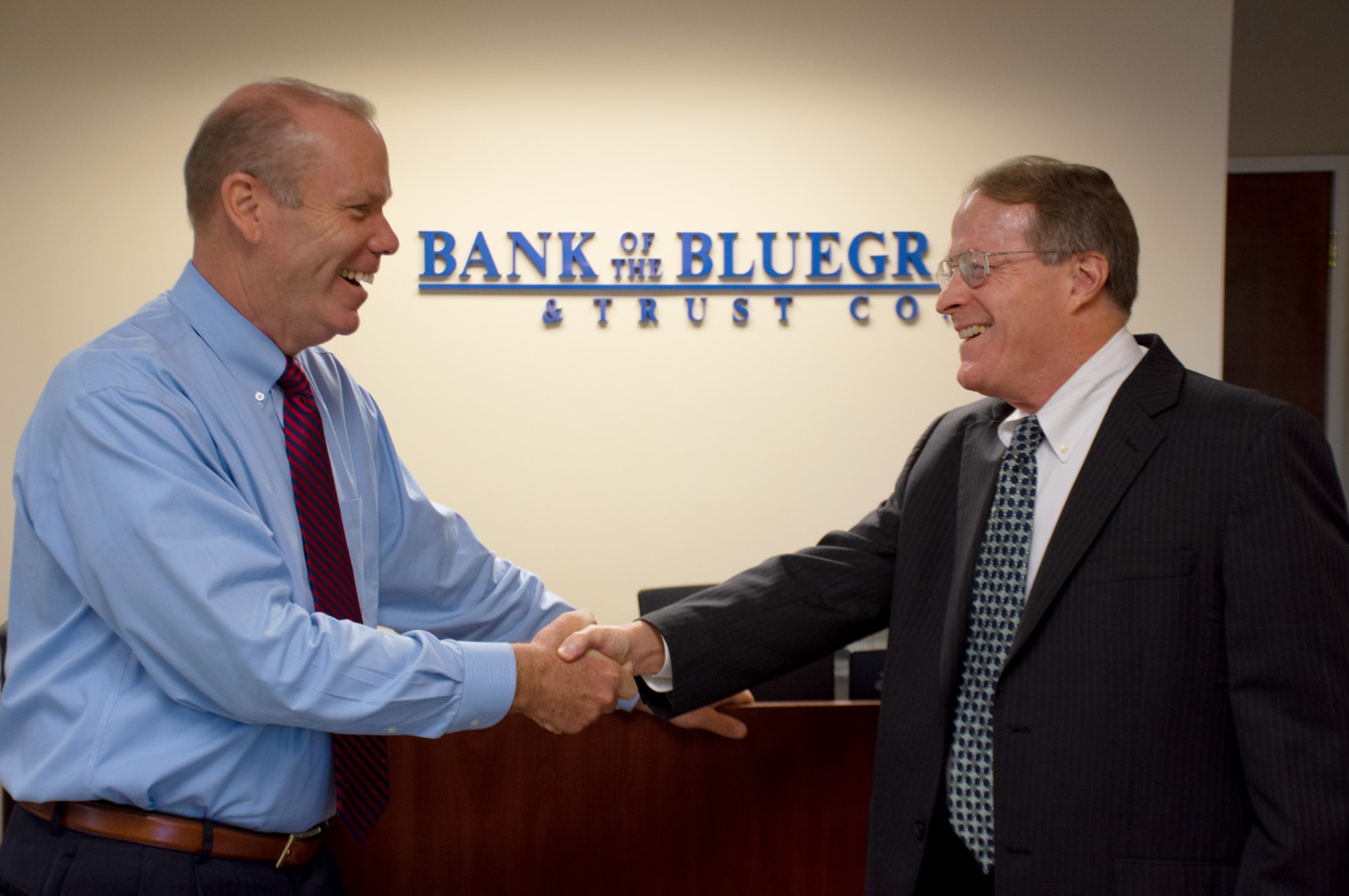 Mark Herren Congratulates Bill Allen